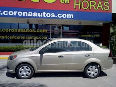 Chevrolet Aveo LS Aut (Nuevo) usado (2016) color Crema precio $129,900