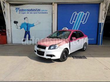 Chevrolet Aveo 4p LS L4/1.6 Man usado (2017) color Blanco precio $50,000