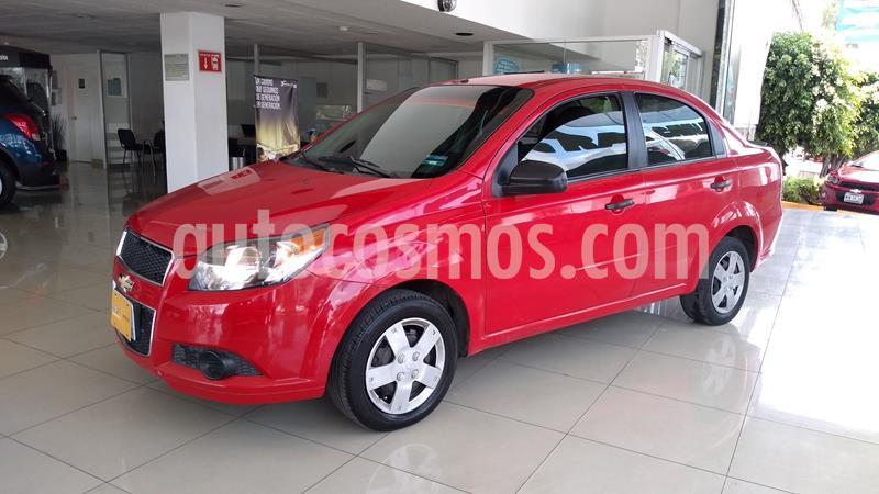 Chevrolet Aveo LS Aa usado (2015) color Rojo precio $110,000