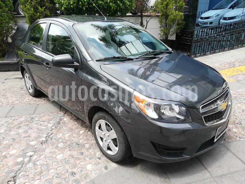 Chevrolet Aveo LS usado (2017) color Gris precio $125,000