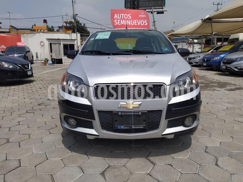 Chevrolet Aveo Paq M usado (2015) color Plata precio $128,000