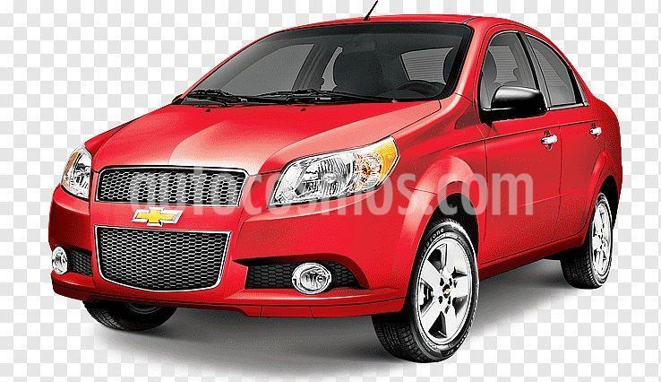 Chevrolet Aveo LT (Nuevo) usado (2011) color Rojo precio $88,900