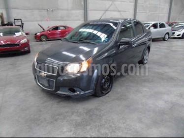 Chevrolet Aveo 4p LT L4/1.6 Man usado (2017) color Gris precio $59,000