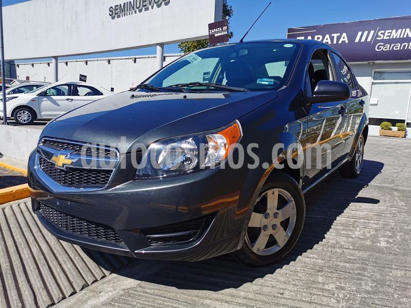 Foto Chevrolet Aveo LS usado (2018) color Gris precio $140,000