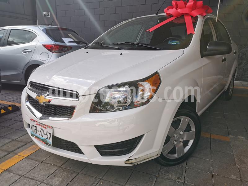 Chevrolet Aveo LS usado (2018) color Blanco precio $143,000