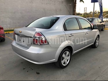 Chevrolet Aveo 4p LT L4/1.6 Aut usado (2018) color Plata precio $149,000