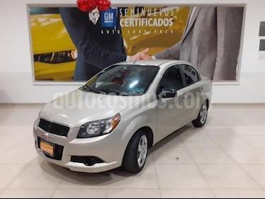 Foto Chevrolet Aveo 4p LT L4/1.6 Aut usado (2014) color Beige precio $113,900