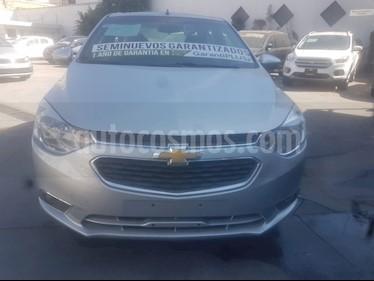 Chevrolet Aveo LTZ (Nuevo) usado (2018) color Plata precio $179,800
