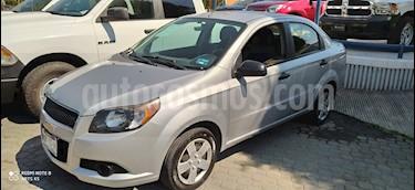 Chevrolet Aveo LS usado (2015) color Plata Brillante precio $128,000
