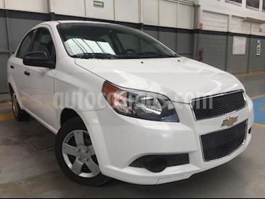 Foto Chevrolet Aveo 4p LS L4/1.6 Aut usado (2017) color Blanco precio $140,000