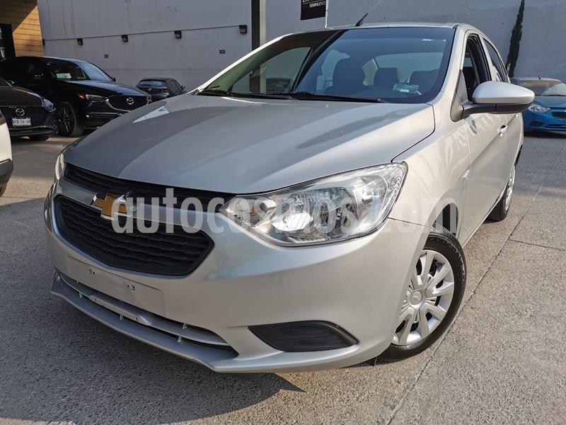 Foto Chevrolet Aveo LS usado (2018) color Plata Brillante precio $155,900
