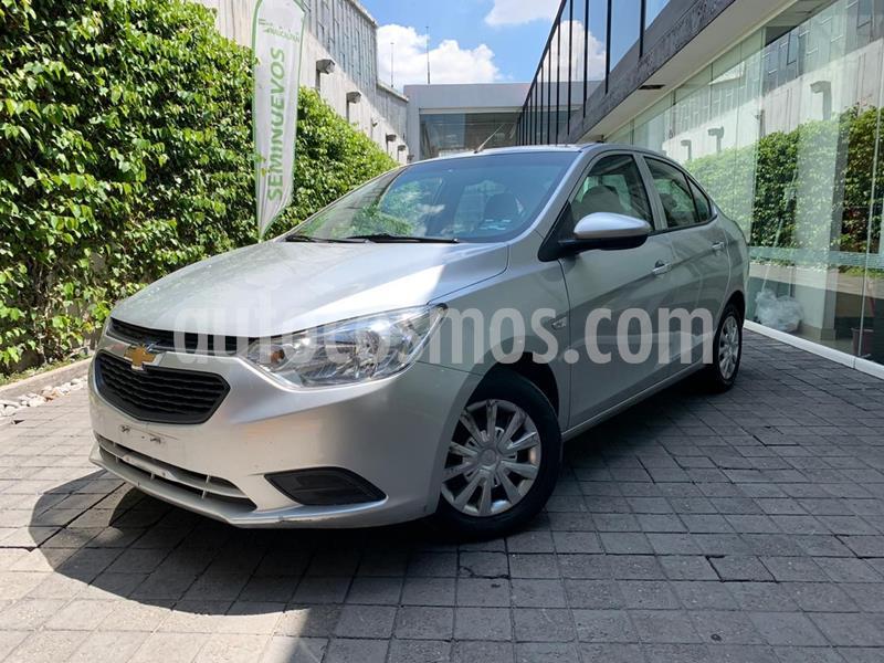 Foto Chevrolet Aveo LS usado (2018) color Plata Dorado precio $145,000