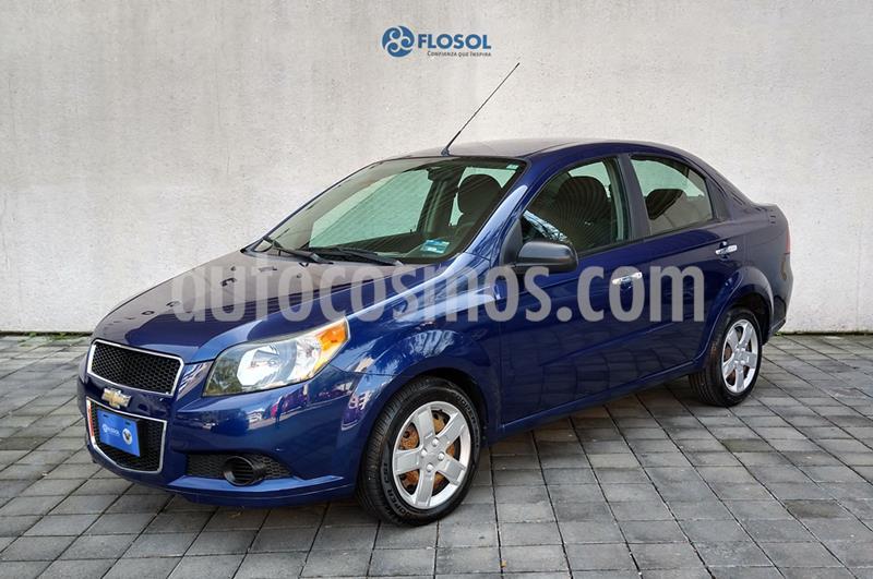 Chevrolet Aveo LS usado (2017) color Azul Marino precio $134,000