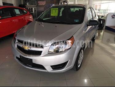 Chevrolet Aveo 4p LT L4/1.6 Man usado (2018) color Plata precio $169,900