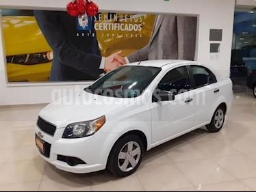 Foto Chevrolet Aveo 4p LS L4/1.6 Aut usado (2013) color Blanco precio $103,900