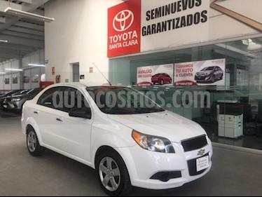 Chevrolet Aveo 4P LS TA A/AC CD R-14 usado (2016) color Blanco precio $119,000