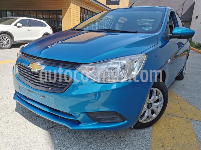 Foto Chevrolet Aveo LS usado (2019) color Azul Acero precio $160,000