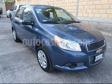 Chevrolet Aveo LT Aut usado (2013) color Azul Metalico precio $103,000
