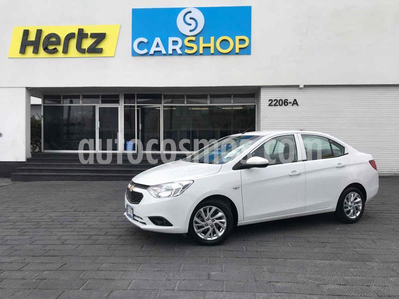 Foto Chevrolet Aveo LT D AT usado (2020) color Blanco precio $175,900