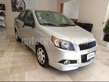 Chevrolet Aveo LS usado (2014) color Plata precio $105,000