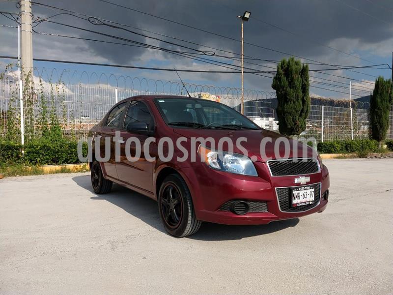Chevrolet Aveo LT usado (2015) color Rojo precio $120,000