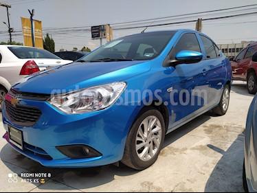 Chevrolet Aveo Paq C usado (2018) color Azul Claro precio $163,000