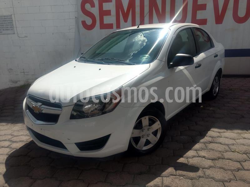 Chevrolet Aveo LS usado (2018) color Blanco precio $135,000