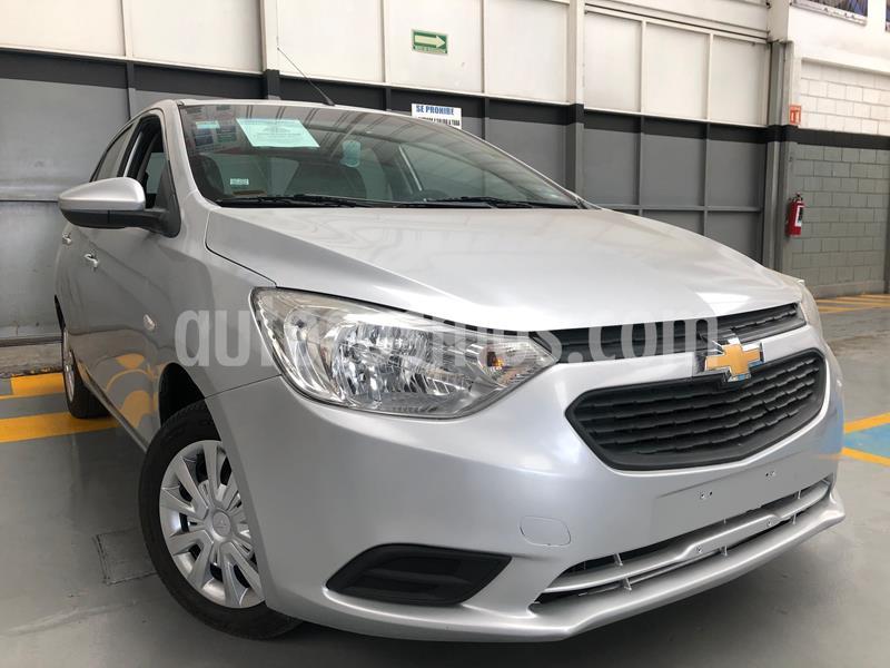 Chevrolet Aveo LS usado (2018) color Plata precio $145,000