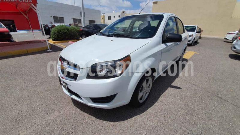 Chevrolet Aveo LT Aut usado (2018) color Blanco precio $155,000