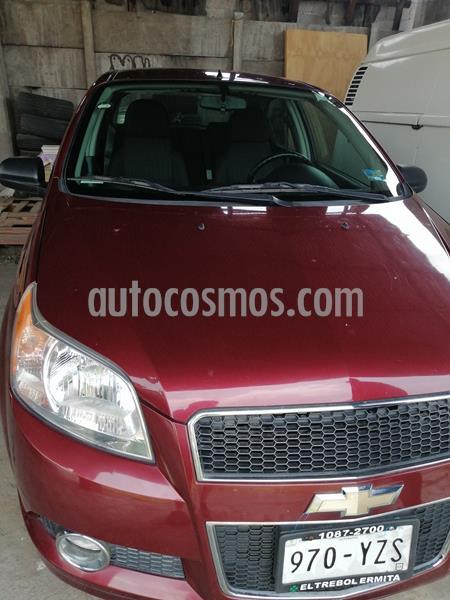 Chevrolet Aveo LTZ usado (2013) color Rojo Tinto precio $99,000
