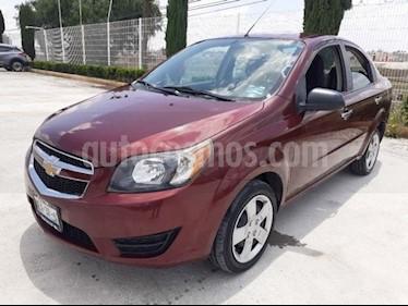 Chevrolet Aveo Paq B usado (2017) color Rojo precio $140,000