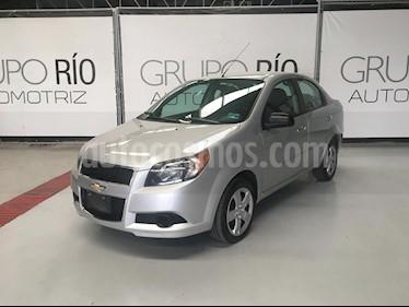 Chevrolet Aveo LT Aut usado (2016) color Plata precio $128,000