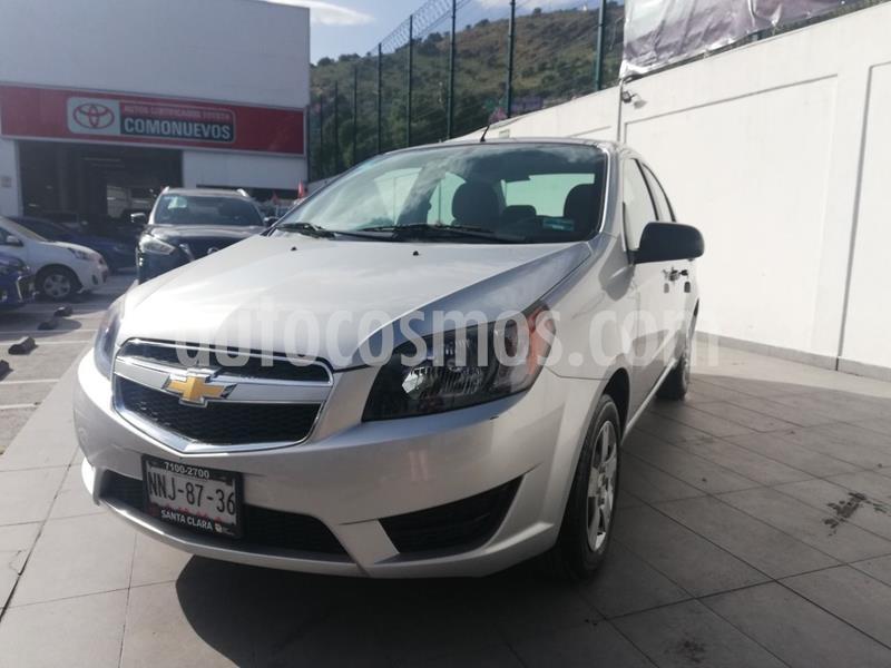 Chevrolet Aveo LS usado (2017) color Plata Dorado precio $120,000