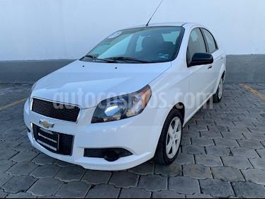 Chevrolet Aveo LT Aut usado (2017) color Blanco precio $155,000