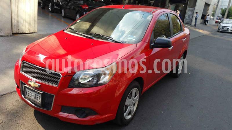 Chevrolet Aveo LT usado (2015) color Rojo precio $114,000