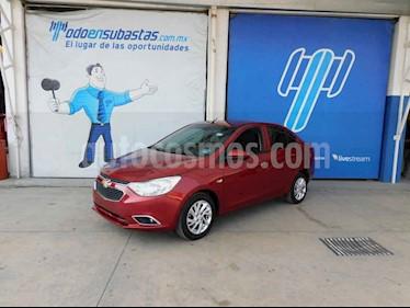 Chevrolet Aveo 4p LTZ L4/1.5 Man usado (2019) color Rojo precio $126,000
