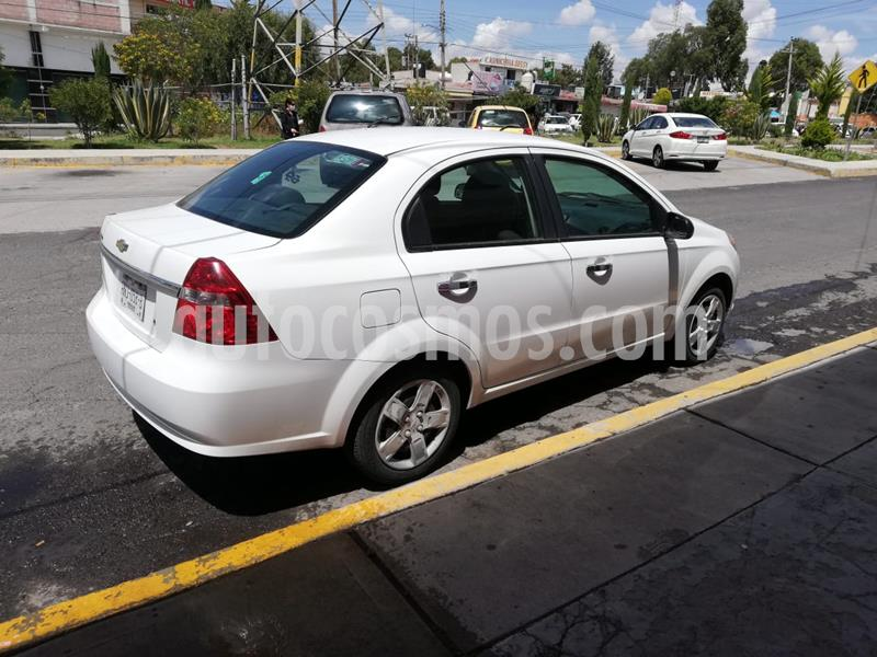Chevrolet Aveo LT Plus usado (2014) color Blanco precio $90,000