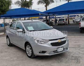 Chevrolet Aveo LTZ Aut usado (2018) color Plata precio $175,000