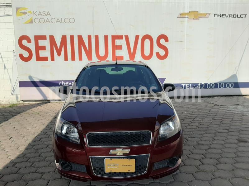 Chevrolet Aveo LT (Nuevo) usado (2016) color Rojo precio $120,000