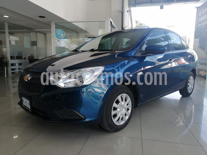 Chevrolet Aveo LS usado (2020) color Azul precio $189,000