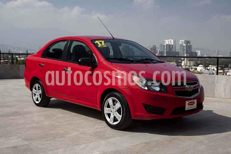 Chevrolet Aveo LT usado (2017) color Rojo precio $124,700
