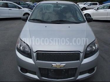 Foto Chevrolet Aveo LT Aut usado (2016) color Plata precio $128,000