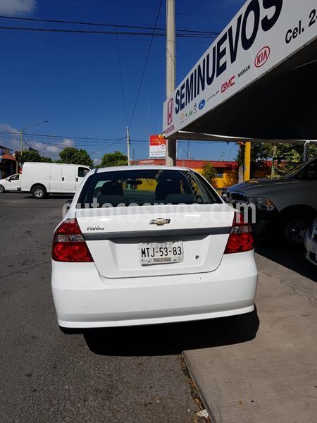Chevrolet Aveo LS usado (2015) color Blanco precio $108,500