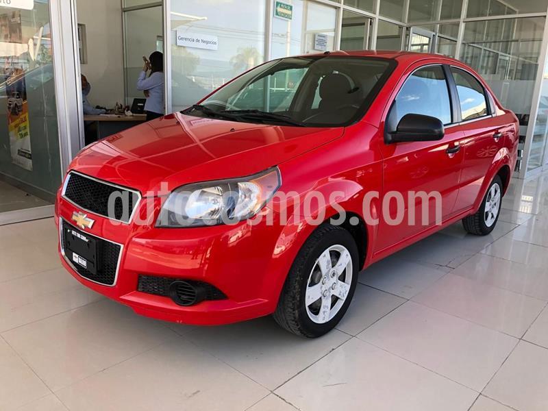 Chevrolet Aveo LS Aa usado (2016) color Rojo precio $115,000