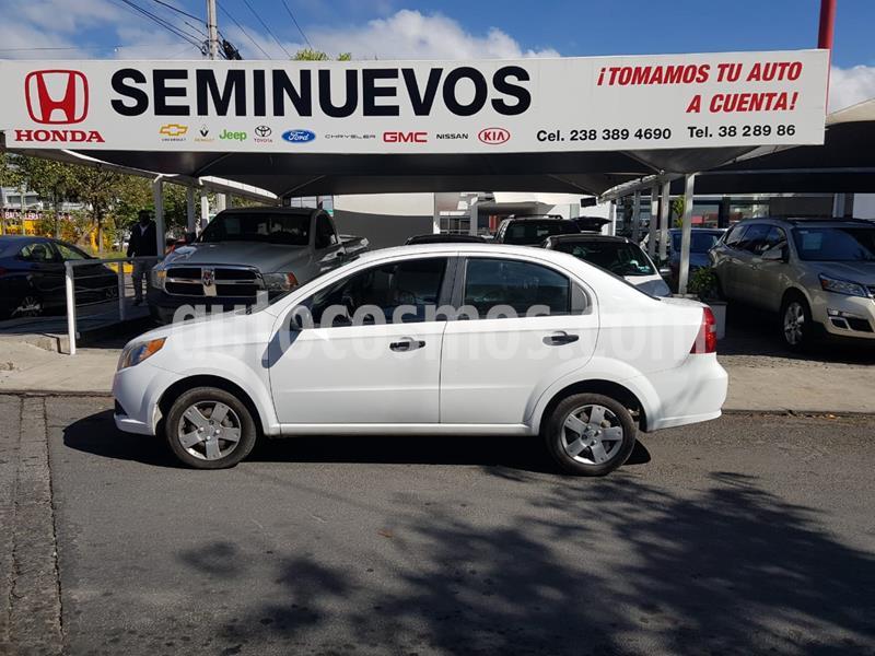 Chevrolet Aveo LS usado (2017) color Blanco precio $133,000