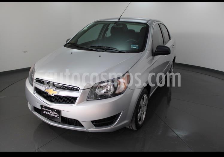 Chevrolet Aveo LT usado (2018) color Plata Brillante precio $134,900