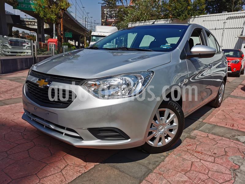 Foto Chevrolet Aveo LS usado (2018) color Plata Brillante precio $163,000
