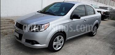 Chevrolet Aveo LT usado (2017) color Plata precio $130,000