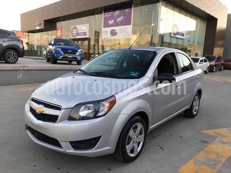 Chevrolet Aveo LT Aut usado (2018) color Plata precio $132,000