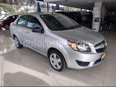 Chevrolet Aveo 4P LT L4/1.6 AUT usado (2018) color Plata precio $147,000